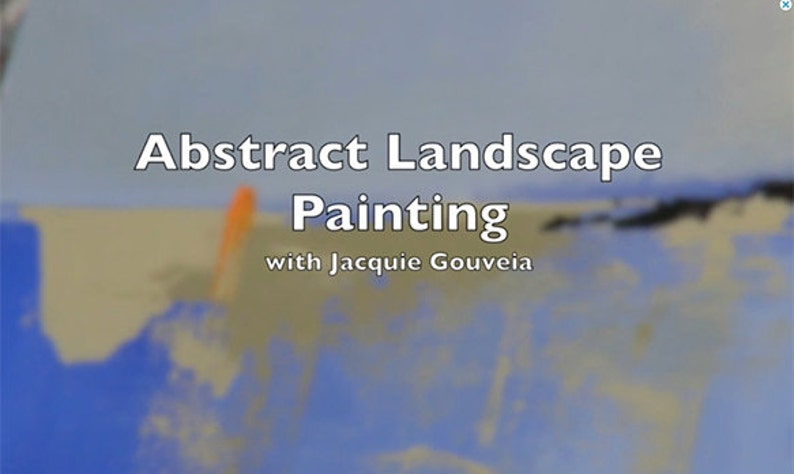 Best Selling Items VIDEO Tutorial Abstract Landscape image 0