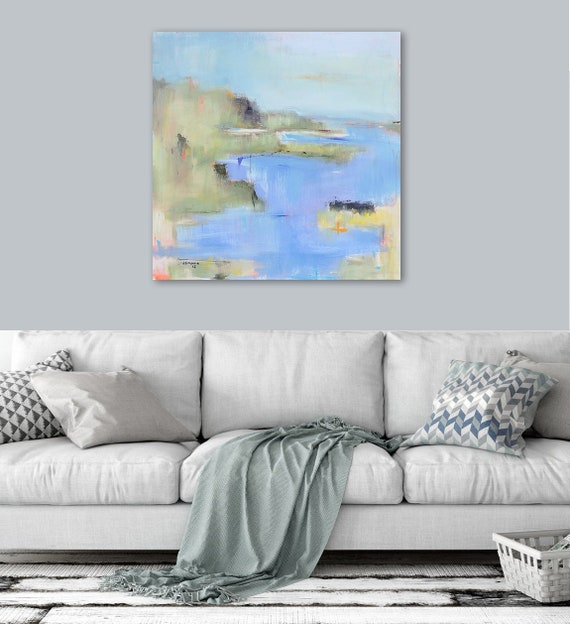 International Shipping Best Selling Items Abstract Landscape Etsy Delectable Living Room International Painting