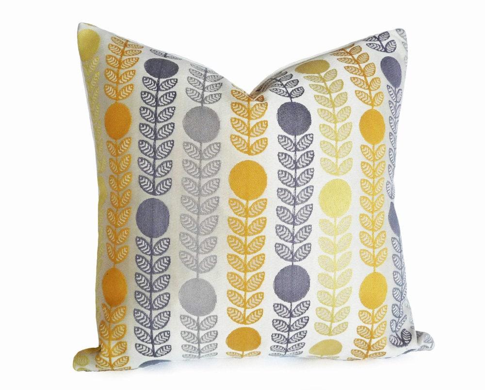 Mid Century Modern Pillows Danish Pillow Covers Cream ...