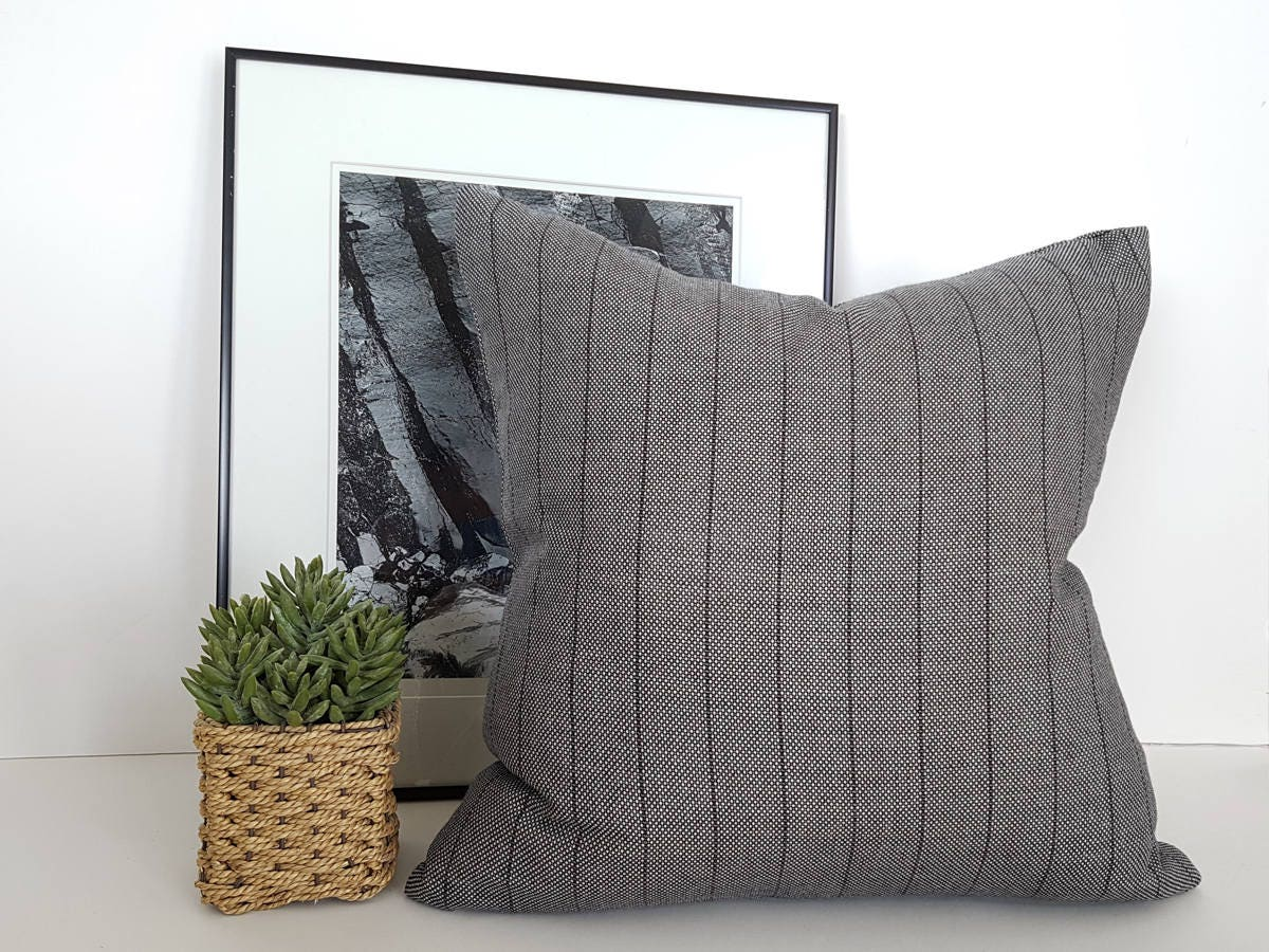 Grey Farmhouse Pillows Farmhouse Cushions Gray Pillow Gray