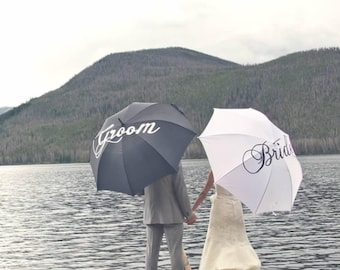 Custom Painted Rain/Waterproof Umbrellas