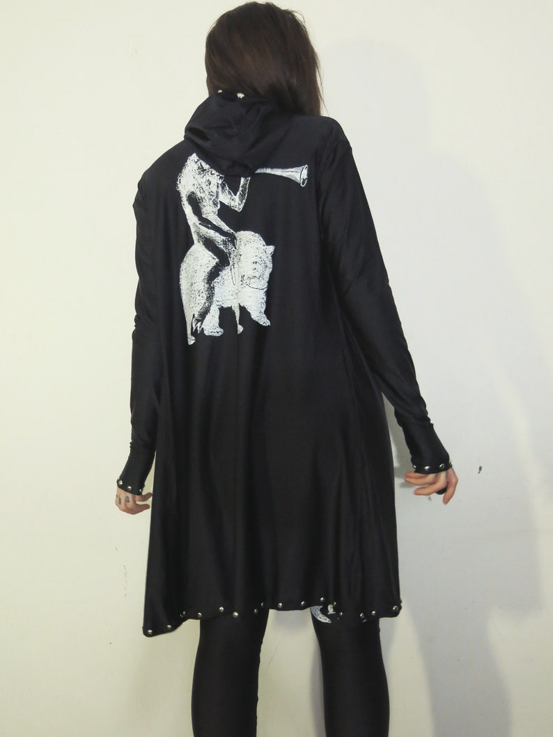 Hell Couture Pursan Studded Robe