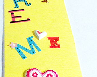 4pcs Children sticker handmade bookmarks  For Ages 10 and older