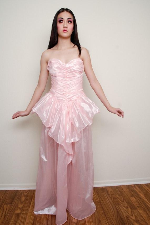 Pink Princess Prom dress - image 1