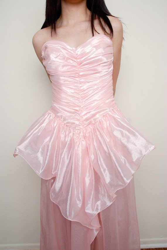 Pink Princess Prom dress - image 2