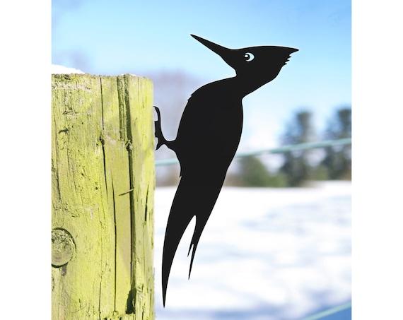 Woodpecker Gift, Garden Bird Ornament, Ornithologist Gift