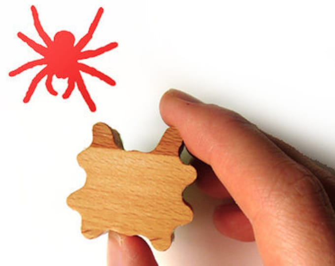 Spider Rubber Stamp, Card Making and Scrapbooking