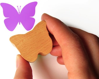 Butterfly Stamp Gift, Scrapbooking Insect Stamp Gift