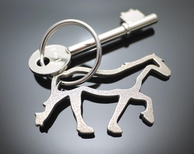 Horse Keychain, Pony Keyring
