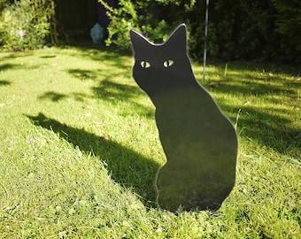 Outdoor Garden Cat Lawn Ornament for Cat Lovers, Cat Garden Memorial
