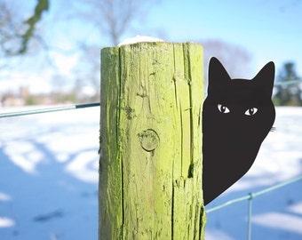 Cat Ornament, the Perfect Garden Art Gardener Gift for Cat Lovers
