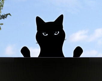 Cheeky Cat Window Sticker or Wall Decal