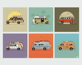 Draw me a van!