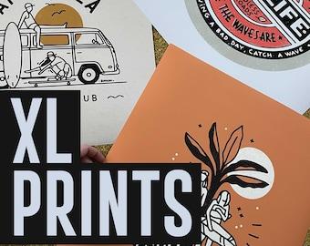 XL Print - On demand
