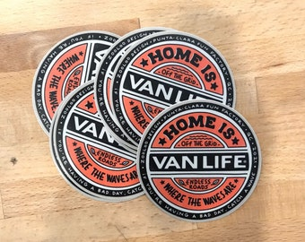 Vanlife - Stickers