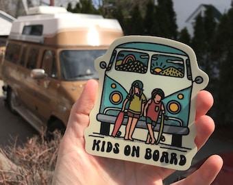 Kids on board - Sticker