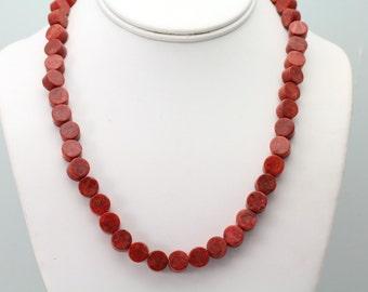Sponge Coral Necklace. Listing 508163137