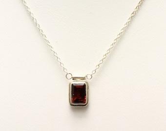 Garnet Pendant. Listing 552649139