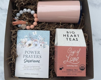 Power Of Prayer Devotional and Tea Gift Box Set No. 69