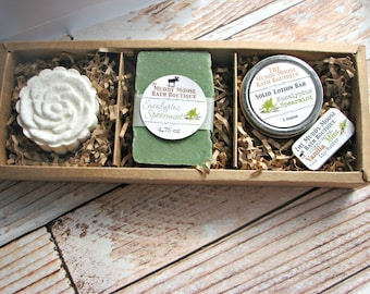 Care Package - Self Care Kit - Self Care Box - Bath Bomb Gift Set - Bath Bomb Set - Spa Gift Set - Spa Set - Mom Gift - Mothers Day Gift