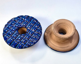 Wet Felting Tool, Felt Shaper, Handmade, felting tool with handle, Felting Stone, Birthday Gift, Gift For Fiber Artists