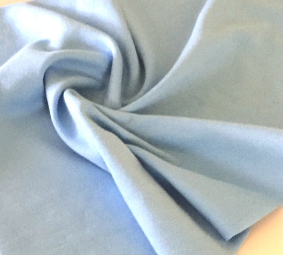f7a11b9a40d Organic Bamboo interlock knit fabric in Alaskan Blue used for baby items