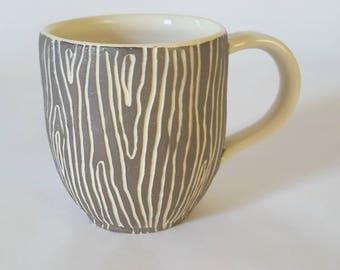 Wood Grain Mugs