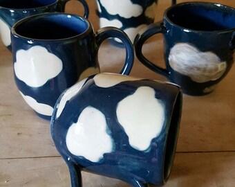Cloud Mugs (pair)