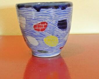 Dendron Vase in Blue