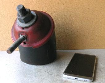 Keepsake box w/ lid, desk storage, tea bag holder, jewelry box, mens gift, table storage, salvaged steel