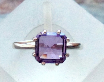 1 ct Blue topaz 100/% bench created Handmade Sterling silver  not a casting REDUCED to clear