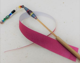 Bamboo Paper Bead Roller
