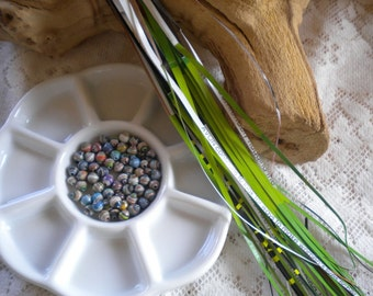 Paper Strips - Ex Small, Round Paper Beads