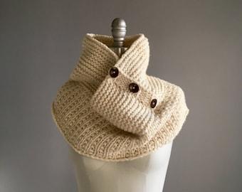 Knitting Pattern PDF x Alice Cove Cowl x Chunky Cowl Pattern x Easy & Quick Knit x Cozy Neck Warmer x Hygge Style x Slow Fashion