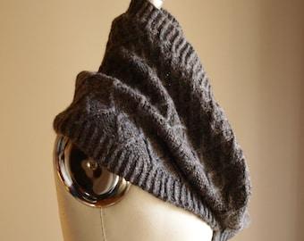 Knitting Pattern PDF x Wandering Cowl x Easy Cabled Neck Warmer x Cozy Winter Wear x Knit Fall Accessory x Hygge Style x Slow Fashion