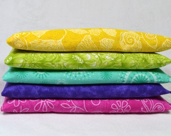 Wholesale Cotton Eye Pillows Bulk Lot of 10 or 15 in Lavender or Unscented