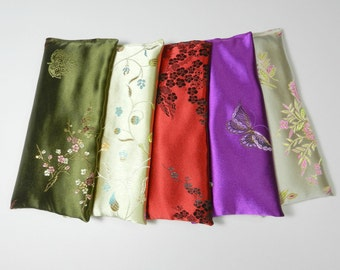 Wholesale Eye Pillows Lot of 5 - Your choice of size, scent and color