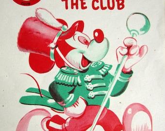 Figure en plastique mickey mouse disney jouet poup e mobile etsy - Coloriage minnie jouet ...