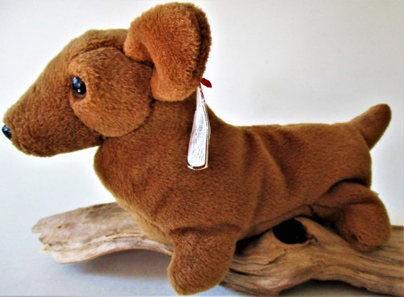 1184e2708e8 Ty Beanie Baby Retired WEENIE Dachshund Puppy Dog Original