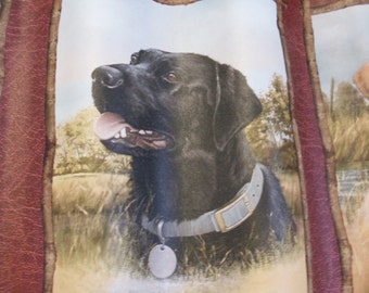 Handmade Labrador Dog Retriever Ripple Art Wood Frame Nice Gift Idea