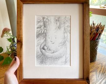 Lullaby Tree Art Print