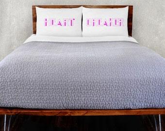 Heart Breaker Pillowcase Set
