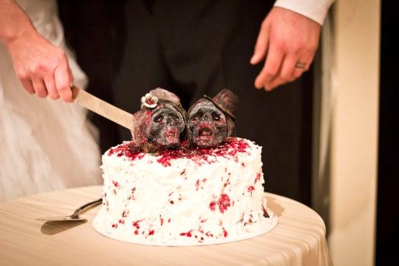 Benutzerdefinierte Braut Und Brautigam Zombie Untoten Etsy