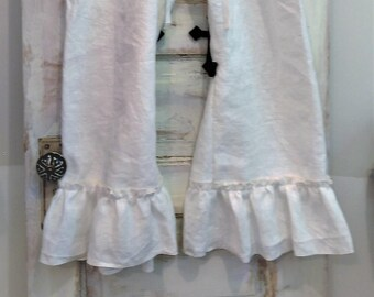 White Simplicity Bloomers | Washed Linen Bloomers | Layers | Mori | Lagen | White Linen Bloomers | The Wild Raspberry