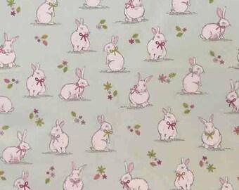 Liebre en el bosque MAKOWER cuarto Gordo 100/% algodón tela coser Edredón Vestido