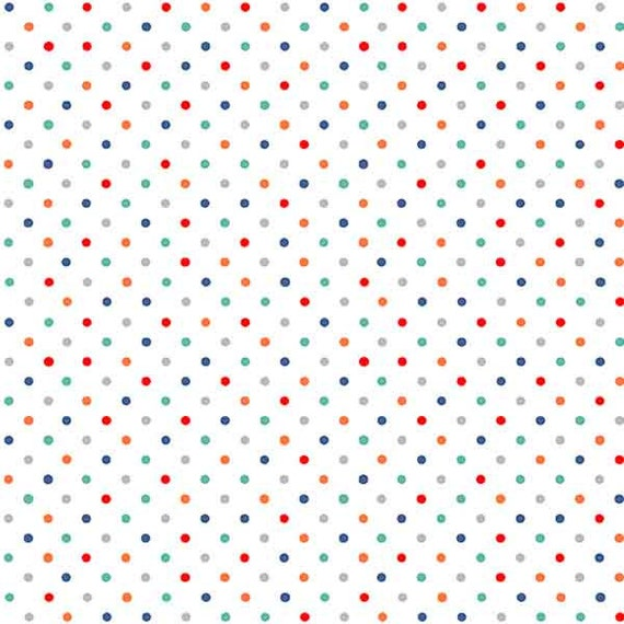 POLKA DOT RED FABRIC BY THE METRE COTTON SPOTS CUSHIONS BUNTING GIFT PRESENT