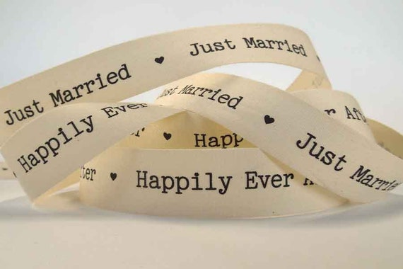 Marriage Frayed Edge Ribbon.Neutral 1-2M x 22mm Cotton Linen Natural Wedding