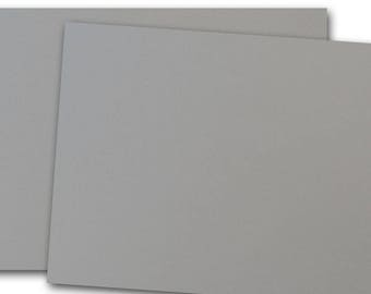 CC Pewter Grey 80lb cover weight Card Stock 8.5x11 - 25 sheets
