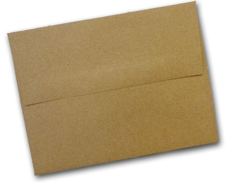 50 pack Brown Bag KRAFT A-2  Envelopes