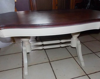 ct197 Furniture Turtle Top Cherry Coffee Table Tables